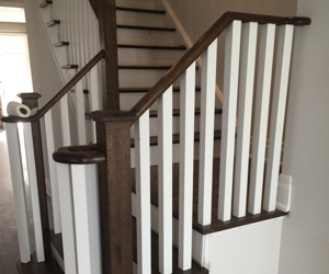 stair and railing conversion